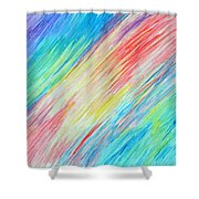 Prismatic Shore Shower Curtain
