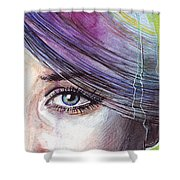 Prismatic Visions Shower Curtain by Olga Shvartsur