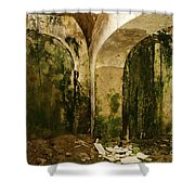 Prison Decay Shower Curtain