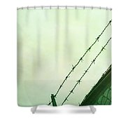 Prisoner Shower Curtain