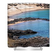 Private Beaches Shower Curtain