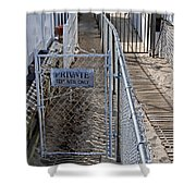 Private Entrance Shower Curtain