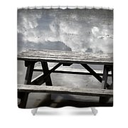 Private Picnic Shower Curtain
