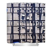 Private Worlds Shower Curtain