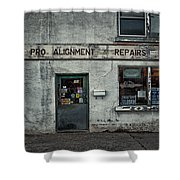 Pro Alignment And Repairs Shower Curtain