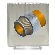 Pro-e Part Design Shower Curtain