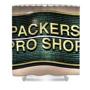 Pro Shop Poster Shower Curtain