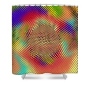 Probing Orb Shower Curtain