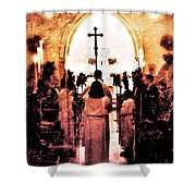 Procession Of Light Shower Curtain