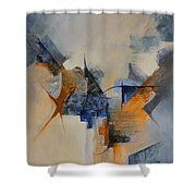 Prodrome Shower Curtain