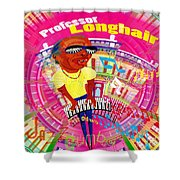 Professor Longhair Shower Curtain