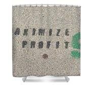 Profit Shower Curtain