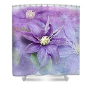 Profusion Of Purple Shower Curtain