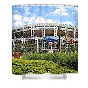Progressive Field Shower Curtain by Frozen in Time Fine Art Photography
