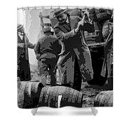 Federal Prohibition Agents Destroy Liquor 1923 Shower Curtain