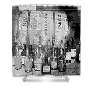 Prohibition Art Shower Curtain by Daniel Hagerman