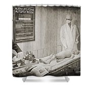 Project Bluebook Shower Curtain