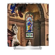Projections Of Faith Shower Curtain
