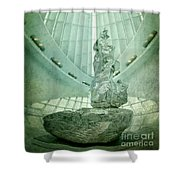 Prominently Displayed Shower Curtain