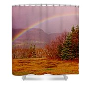 Promise And Hope Cape Breton Shower Curtain