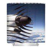 Propeller Movement Shower Curtain