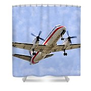 Propelling On In By Diana Sainz Shower Curtain