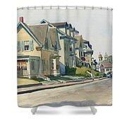 Prospect Street Shower Curtain