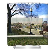 Prospect Terrace In Providence Rhode Island Shower Curtain