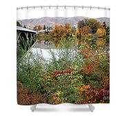 Prosser - Autumn Bridge Shower Curtain