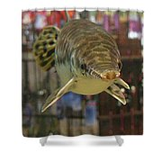 Protected Gar Shower Curtain