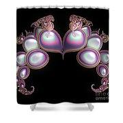 Protective Heart Shower Curtain