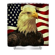 Proud American Shower Curtain