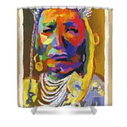 Proud Native American Shower Curtain
