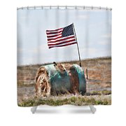 Proud To Be An American Shower Curtain