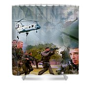 Proud To Serve Shower Curtain