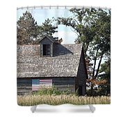 Proudly She Stands Shower Curtain by Caryl J Bohn