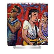 Prove It All Night Bruce Springsteen And The E Street Band Shower Curtain