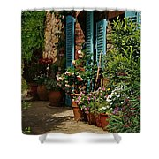 Provencal Alley Shower Curtain