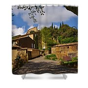 Provencal Village Shower Curtain