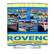 Provence Poster Shower Curtain
