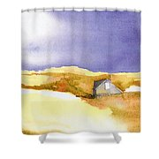 Provincetown Dune Shack Shower Curtain