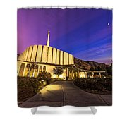 Provo Temple Shower Curtain