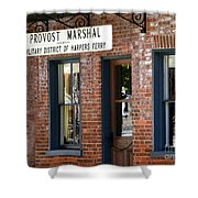 Provost Marshal Shower Curtain