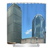 Prudential Building 2960 Shower Curtain