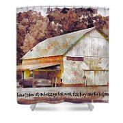 Psalm 119 111 Shower Curtain