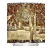 Psalm 119 125 Shower Curtain