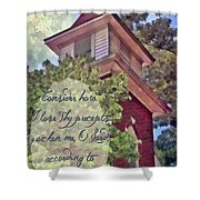Psalm 119 159 Shower Curtain