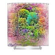 Psalm 119 59 Shower Curtain