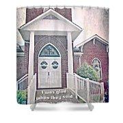 Psalm 122 1 Shower Curtain