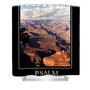 Psalm 90 Shower Curtain